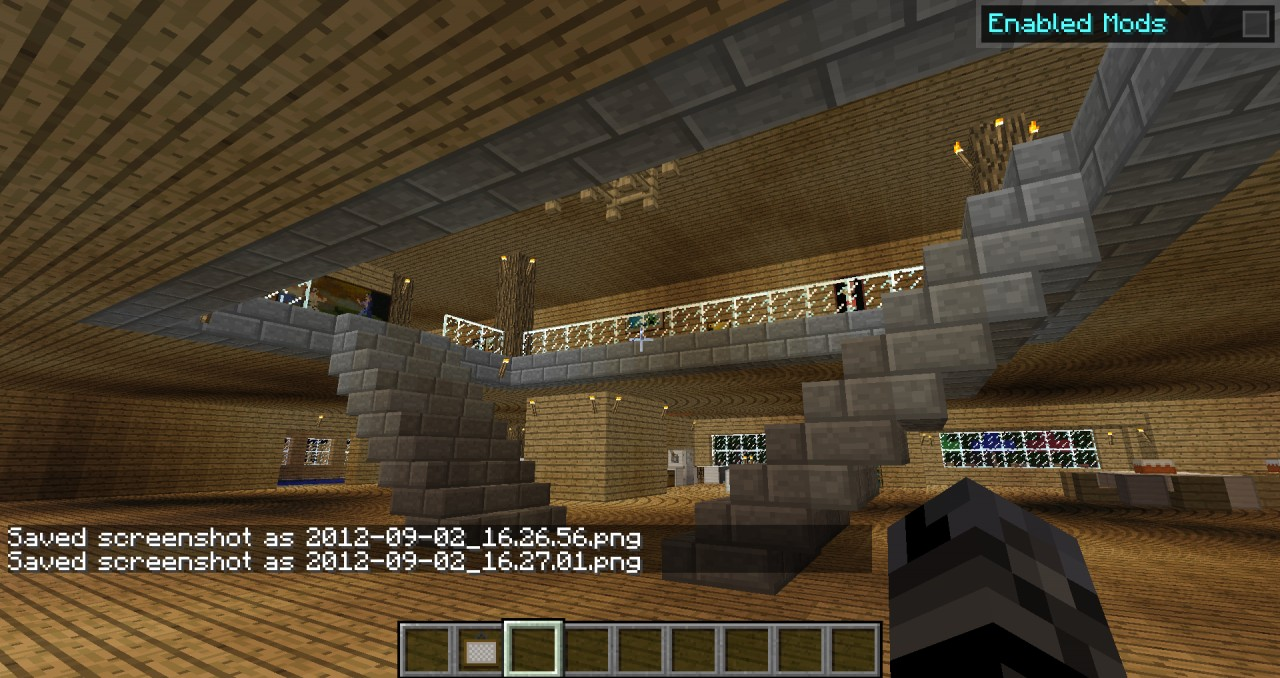 Huge Minecraft House Minecraft Project