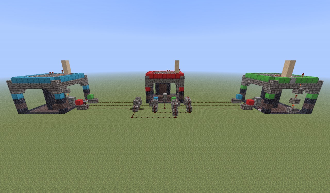 Vanilla Teleportation System using Nether Portals! Minecraft Project