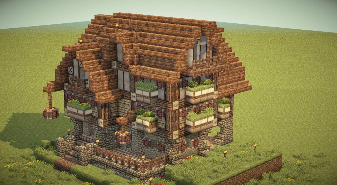 Nmb Blue Flower Inn Minecraft Project