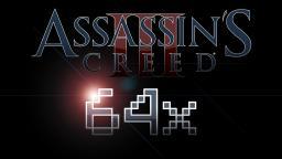 Assassin's Cartoon Creed III - 64x - DOWNLOAD FIXED!! Minecraft Texture Pack
