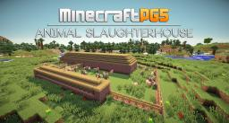 Automated Animal Slaughterhouse Minecraft Map & Project