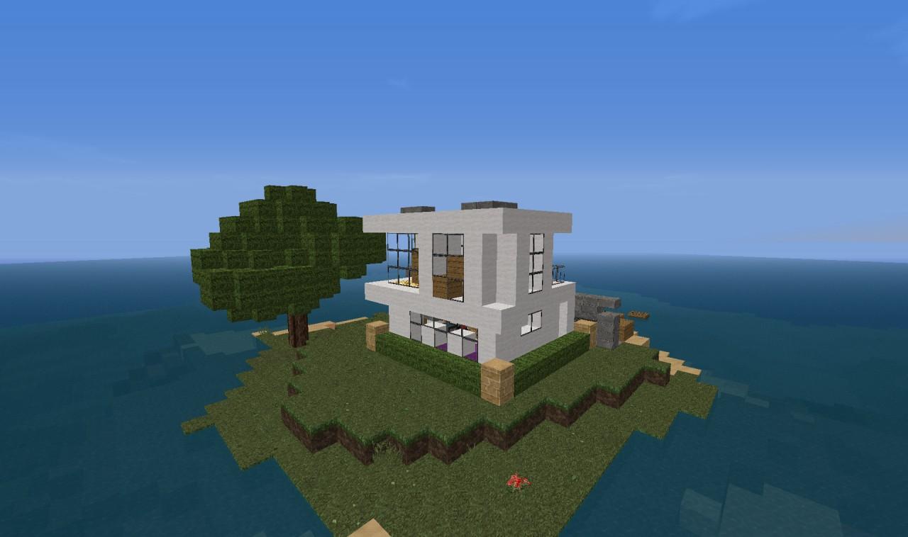 Small Modern Build Minecraft