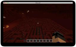 NETHER MAZE HARDCOR (200LIKES????) Minecraft Project