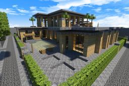 Sandstone Home | Deset Home Project Minecraft Project