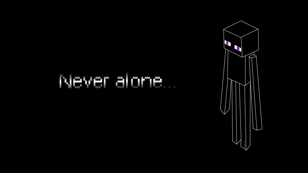 Enderman Desktop Background (Widescreen) Minecraft Blog