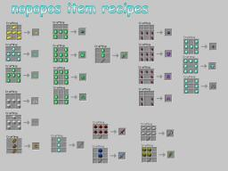 nopopo Items(UPDATED) 1.3.2 SMP/SP Minecraft Mod