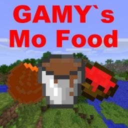 GAMY's Mo Food 1.4.2 (1.3.2) ADDS 32 NEW FOODS!!! [ModLoader Needed] Minecraft Mod