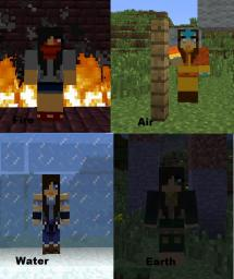 All 4 Skin Elements (Complete) Minecraft Blog
