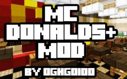 McDonalds  Mod || Updated to 1.3.2 || Not being updated Minecraft Mod