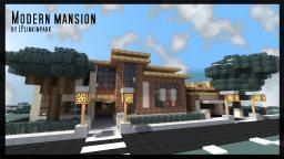 [FR/EN] Modern Villa by LPlinkinpark [FURNISHED CREATIVE/UNFURNISHED CREATIVE] [FURNISHED SURVIVAL/UNFURNISHED SURVIVAL] Minecraft Map & Project
