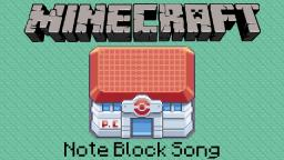 Minecraft Note Block Song: Pokemon Center Minecraft Map & Project