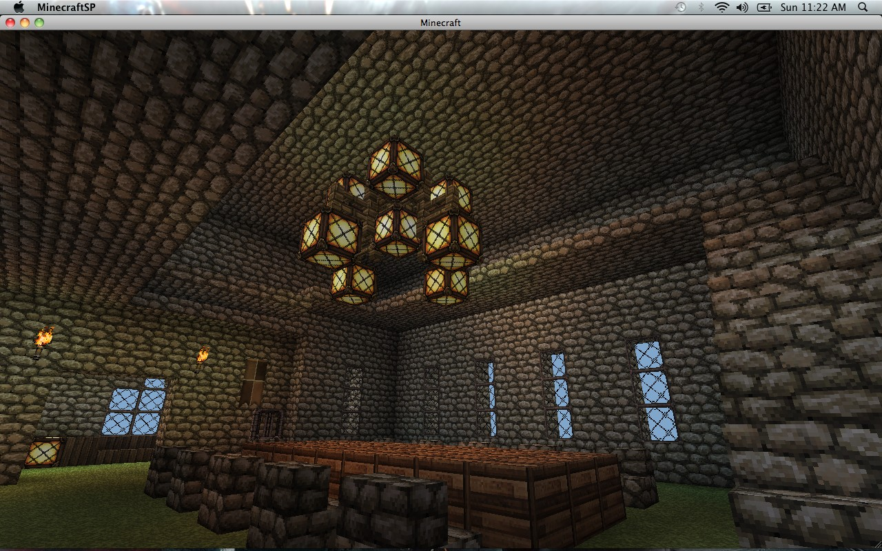 Castle prototype by ebmuffins minecraft project for Dining room minecraft