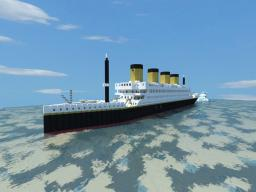 Titanicesque, Titanic like ocean liner Minecraft Map & Project