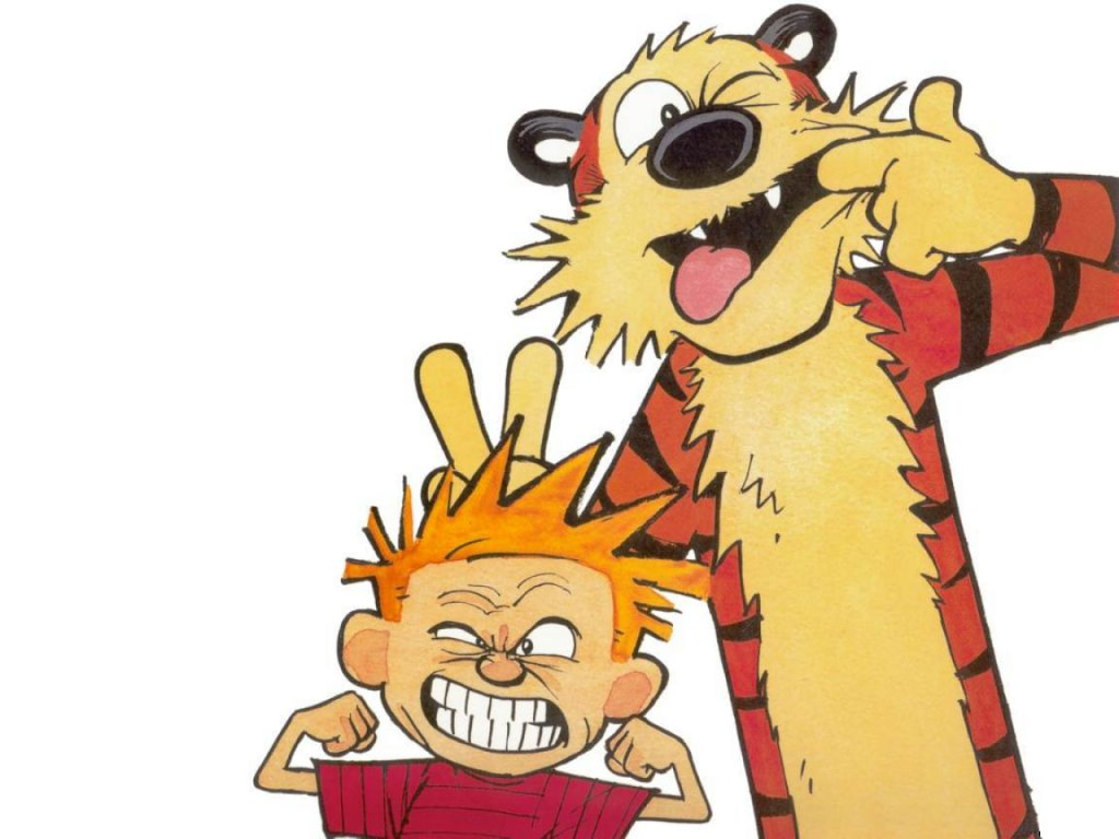 Calvin and Hobbes Play Minecraft: Greytopher Contest Minecraft Blog