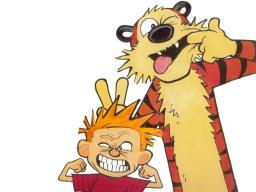 Calvin and Hobbes Play Minecraft: Greytopher Contest Minecraft Blog Post