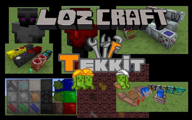 Work on Tekkit textures is underway