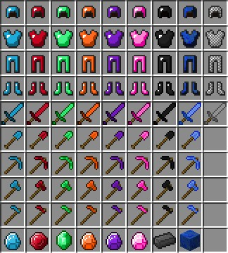 coloring pages minecraft ores - photo#21