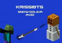 [1.4.4]KRISSIBT'S snow golem turret mod Minecraft Mod