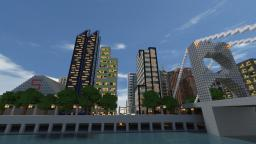Aria City (A large realistic City) Minecraft