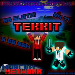 Marcum Tekkit   No Lag | 80 Slots | 5g RAM | PvP | Survival Games | Survival Minecraft Server
