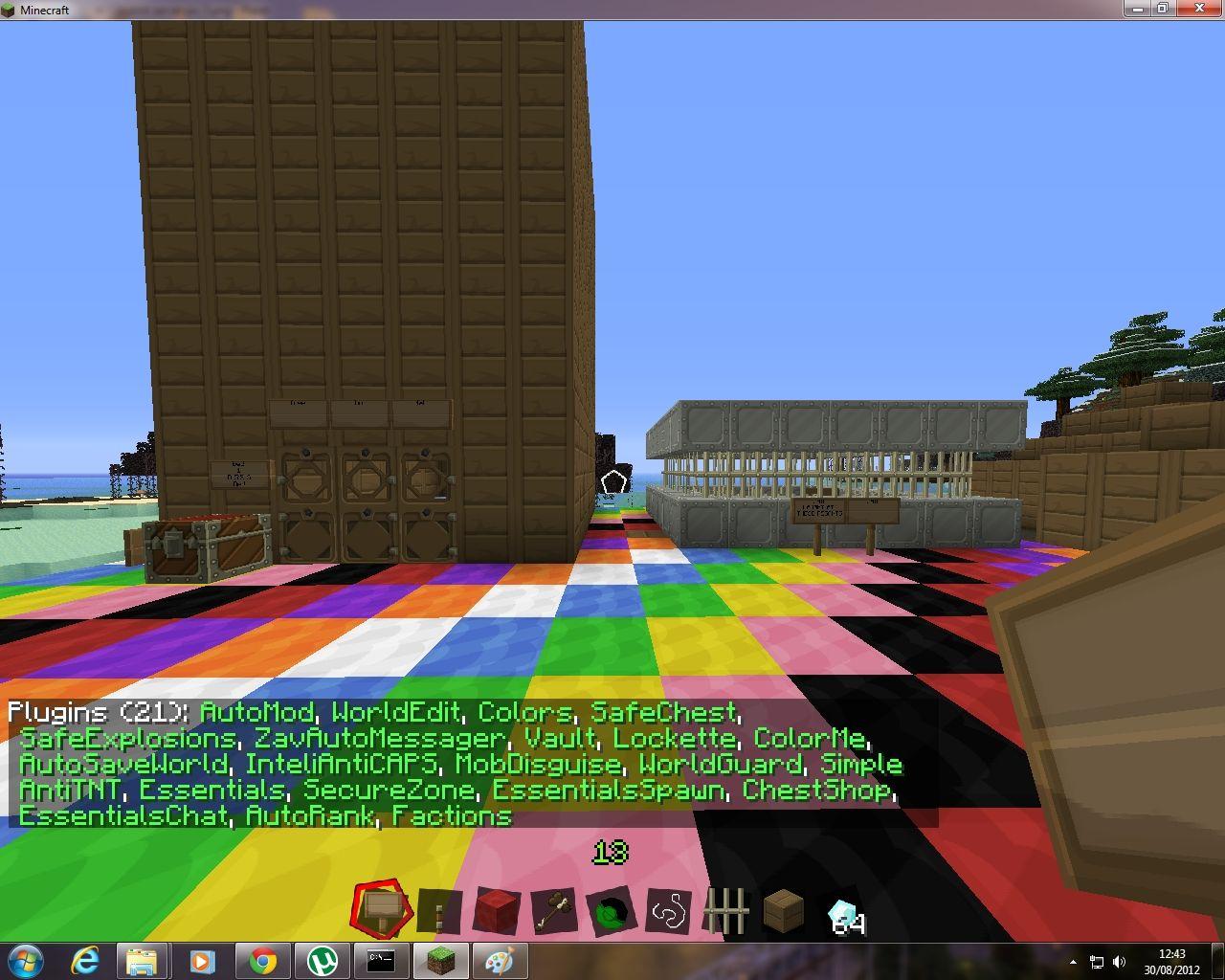 how to create a minecraft bukkit server