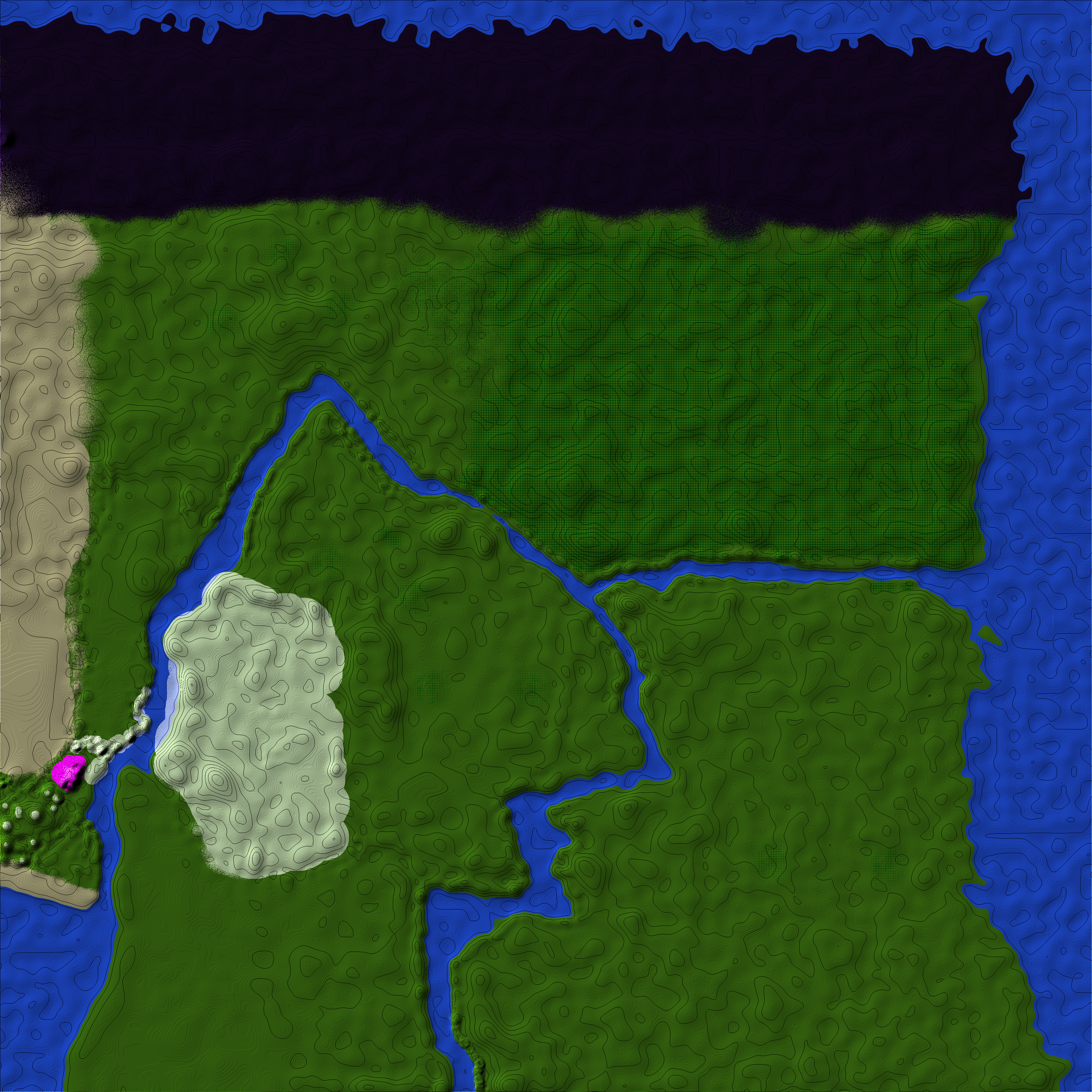 Etaria [CUSTOM TERRAIN] Minecraft Map & Project