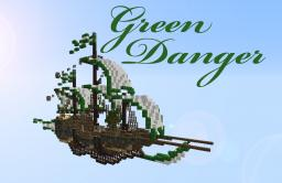 [SKYSHIP] Green Danger [SCHEMATIC] [WORLD SAVE] Minecraft Project