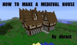 How to build a detailed medieval house! Minecraft Blog Post