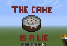 The Cake is a Lie Minecraft Project