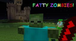 FAT ZOMBIE! MOB!! 1.3.2 SP/SMP Minecraft Mod