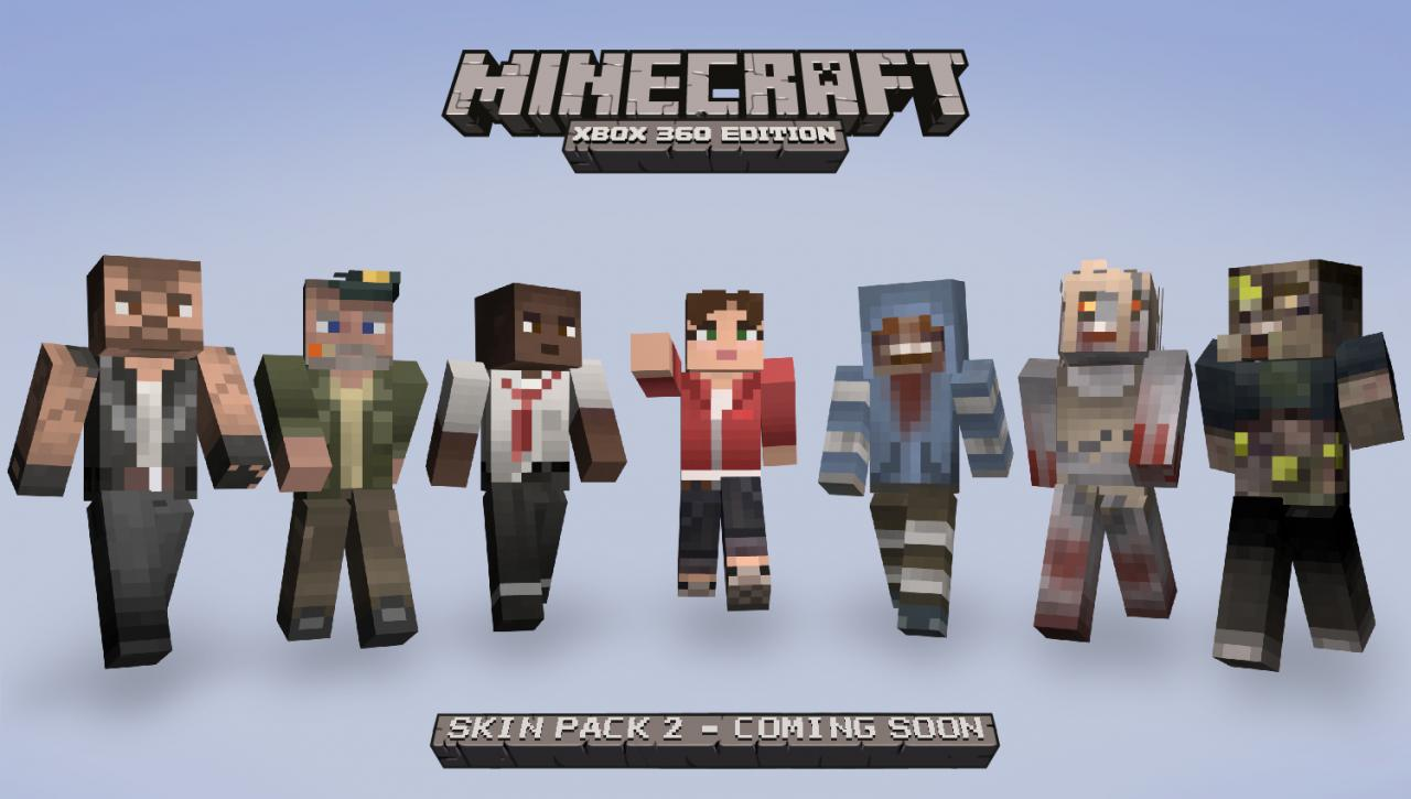 Minecraft Xbox 360 Edition Skin Pack 5