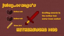 NetherSwords Minecraft Mod