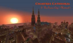 Cathédral of Chartres and WarGamer City (medieval) - Build in Survival - [ DOWNLOAD] Minecraft