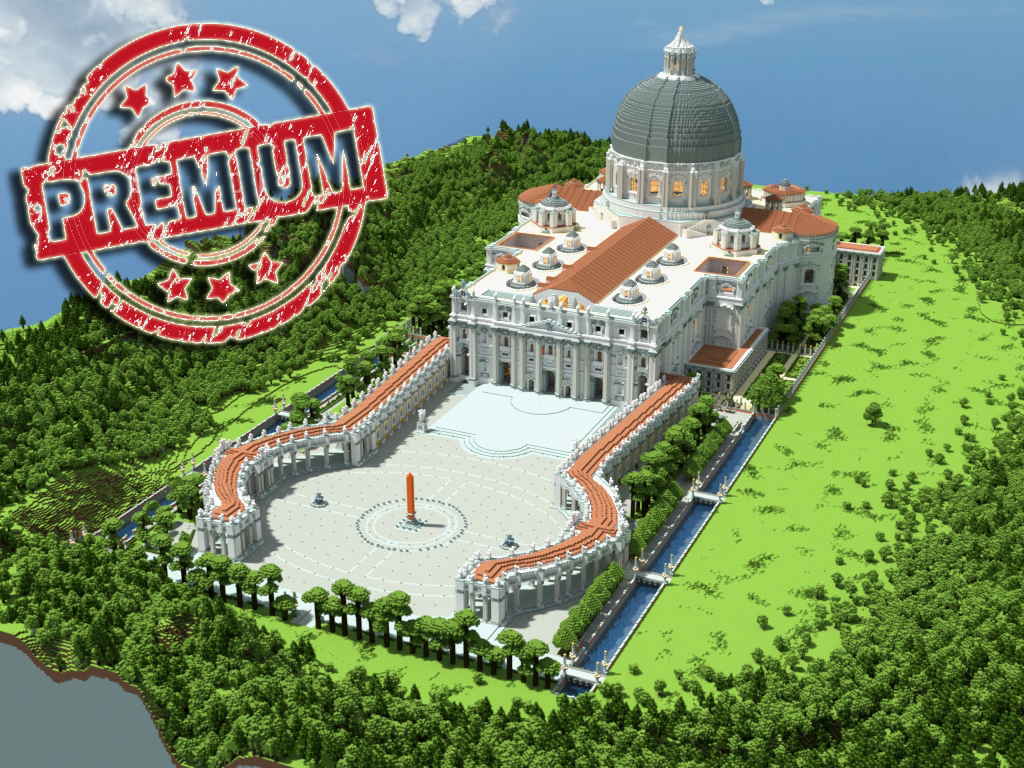 St Peters Basilica HD Release Minecraft Project - Holy see map hd
