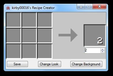 Minecraft recipe creator online minecraft recipe for Minecraft 3d blueprint maker