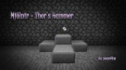 [1.5.2] Mjölnir Mod! [Forge] Minecraft Mod