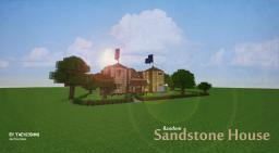 Random Sandstone House Minecraft Map & Project
