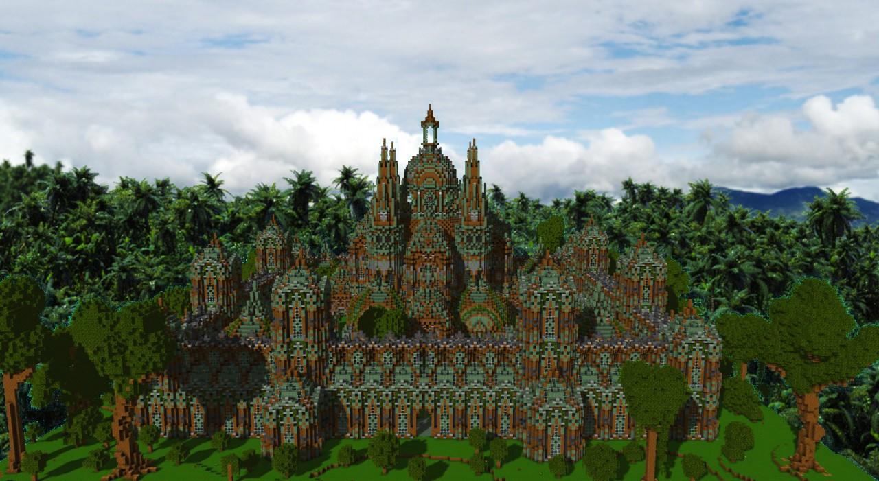 Jungle Palace Minecraft Project
