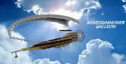 Windsummoner Galleon - Enchanter Airship Minecraft Map & Project