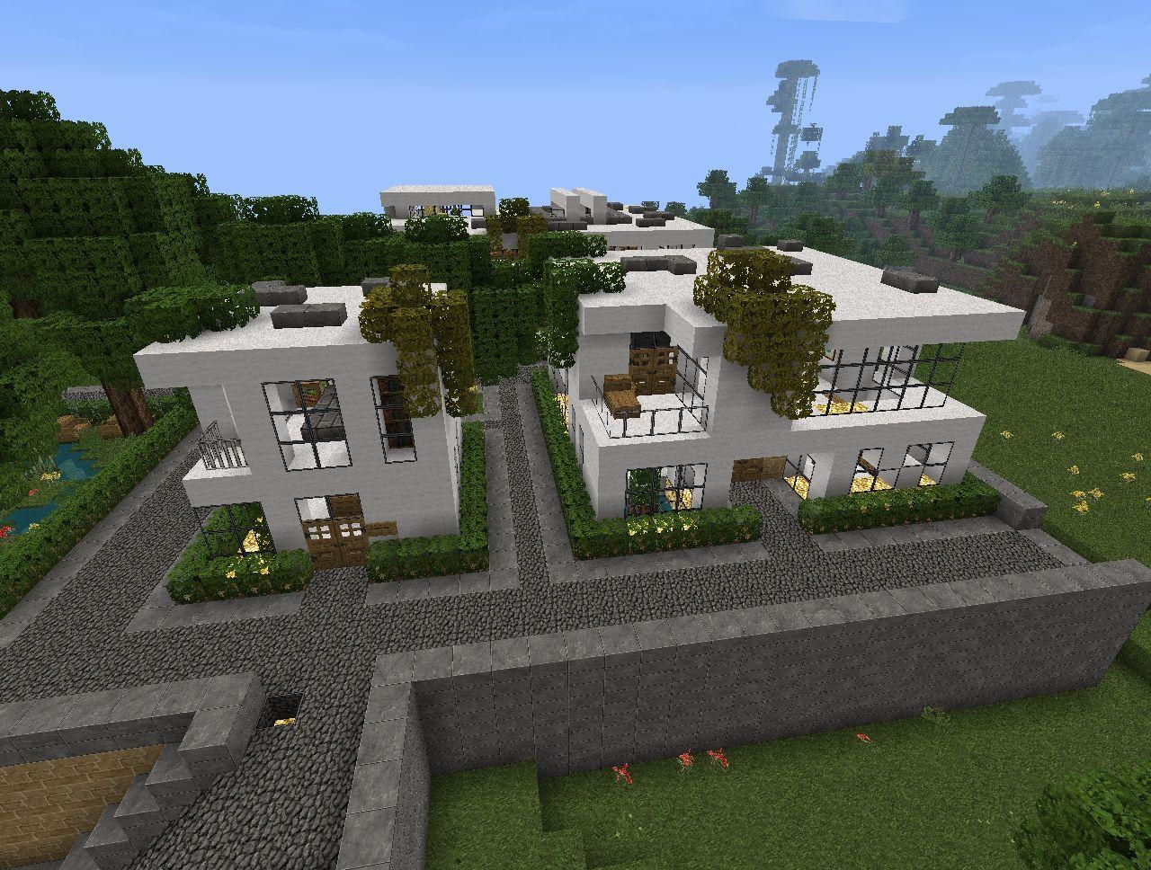 Modern house project v1 1 by pandyraze minecraft project for Modern home projects