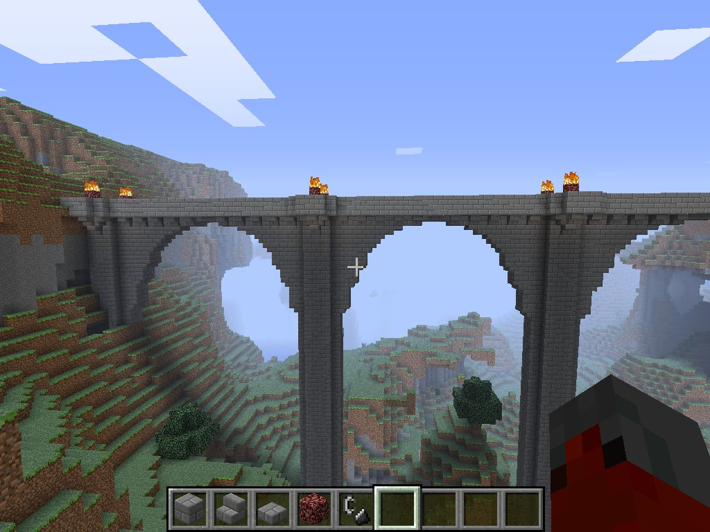Awesome ... Picture Minecraft Japanese Bridge