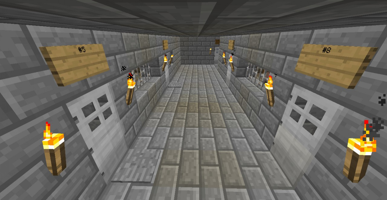 minecraft how to build a jail