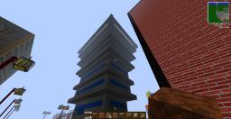 Zombie city. Minecraft Project