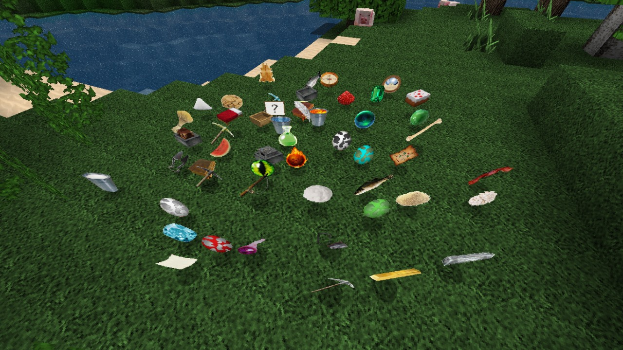 Big update Added All items! D - Old picture, will be updated soon.