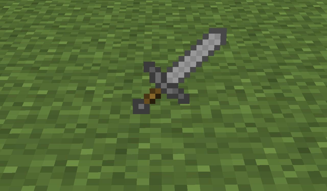 Stone Sword Minecraft Project