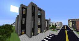 Courthouse and Town hall Minecraft Map & Project