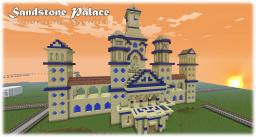 Classic Sandstone Palace Minecraft Project