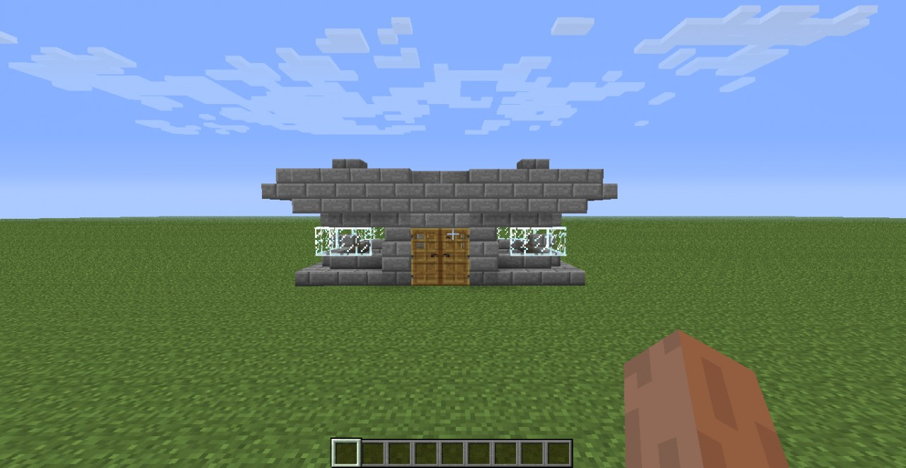 how to build a future house in minecraft