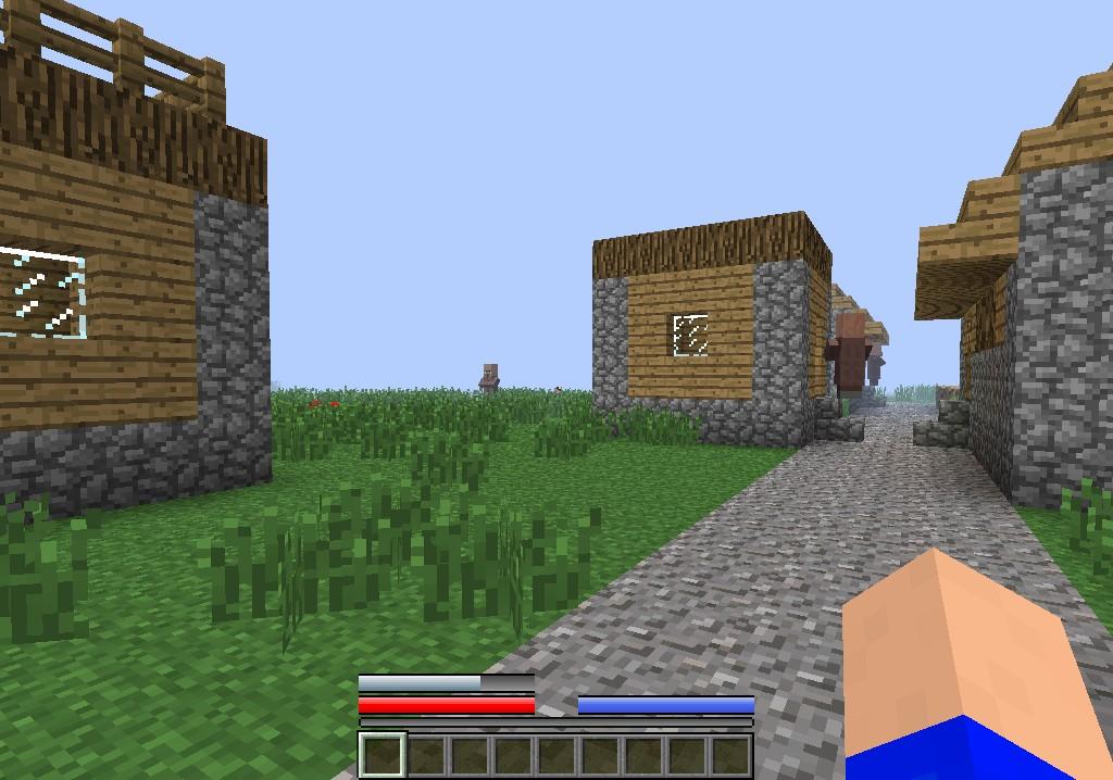 Health Bars Minecraft Health Armor Food And Air Bars