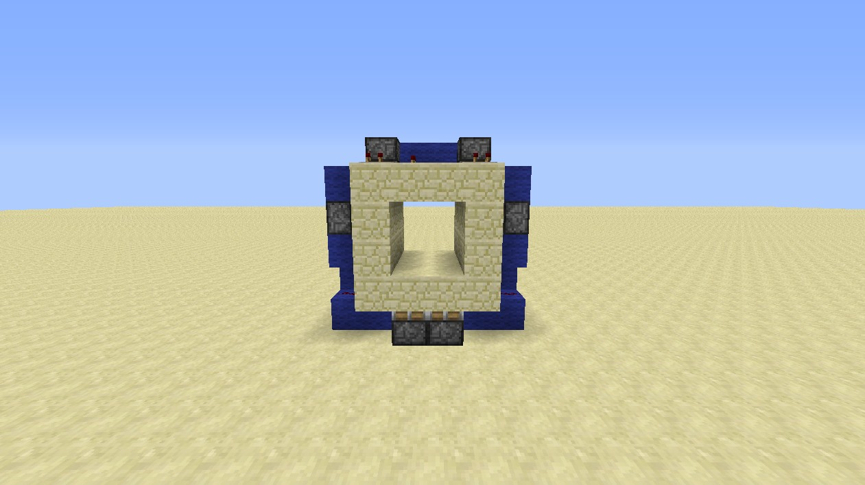 Minecraft Super Hidden 2x2 Flush Piston Door Tutorial [3x6x7] Minecraft Project & Minecraft Super Hidden 2x2 Flush Piston Door Tutorial [3x6x7 ... Pezcame.Com